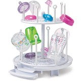 The First Years - Spinning Drying Rack and Organizer *White*
