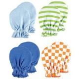 Luvable Friends - Scratch Mittens 4pk (Blue) *34705*