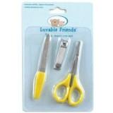 Luvable Friends - Manicure Set 3pc (Yellow)