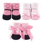 Luvable Friends - Socks Gift Set 3pc (Girl Design A) *07172* BEST BUY