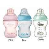 Tommee Tippee - Closer To Nature 9oz PP Tinted (Single) [Blue/Pink/Green]  *BPA Free*
