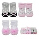Luvable Friends - Socks Gift Set 3pk (Pink) *07182* BEST BUY