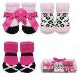 Luvable Friends - Socks Gift Set 3pk (Pink) *07183* BEST BUY
