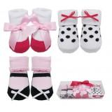 Luvable Friends - Socks Gift Set 3pk (Pink) *07186* BEST BUY