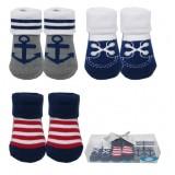Luvable Friends - Socks Gift Set 3pk (Blue) *07187* BEST BUY