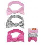 Luvable Friends - Girl Headband 3pk *90339S* 0-12M