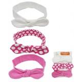 Luvable Friends - Girl Headband 3pk *90331S* 0-12M