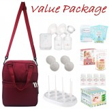 Tiny Touch Intelligent Electric Double Breast Pump **VALUE PACKAGE**