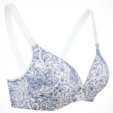 Autumnz - Lauren Nursing Bra (No underwire) *Pansy Blue*