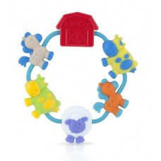 Nuby - Soothe A Loop Teether 3m+ *Blue*