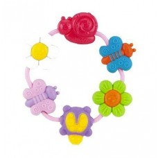 Nuby - Soothe A Loop Teether 3m+ *Pink*