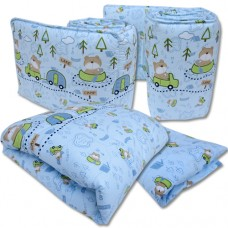 Bumble Bee - 4pc Crib Set