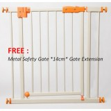 Little Bean - Metal Safety Gate FREE Gate Extension *14cm* (LBBEF-DG1175)