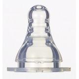 Pigeon - Slim Neck Peristaltic Nipple 2pcs (BPA-Free) 0-3M *Slow Flow*