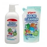 Pigeon - Liquid Cleanser 700ml COMBO (Pump + Refill) *BEST BUY*