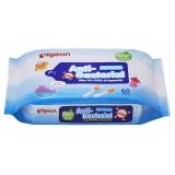 Pigeon - Anti-Bacterial Wet Tissues 60's *BEST BUY*