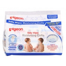Pigeon - Moisturizing Cloths Baby Wipes 70's X 2 *BEST BUY*