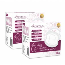 Autumnz- Lacy Deluxe Disposable Breastpads (72 pcs) *TWIN PACK*