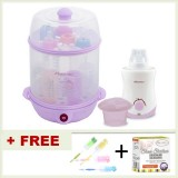 Autumnz - (LILAC) 2-in-1 Electric Steriliser + Home & Car Warmer Combo *FOC Bottle Brush*