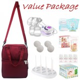 Autumnz - SERENE Convertible Double Electric/Manual Breastpump **VALUE PACKAGE**