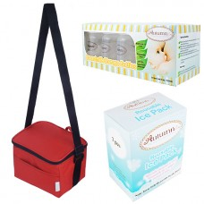 Autumnz - Fun Foldaway Cooler Bag Complete Set (10 btls) - Scarlet Checks