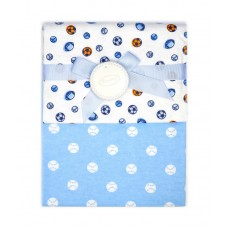 Autumnz - 2-pack Flannel Receiving Blanket *Baseballs*