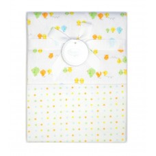 Autumnz - 2-pack Flannel Receiving Blanket *Ducky Dots*