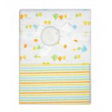Autumnz - 2-pack Flannel Receiving Blanket *Ducky Stripes*