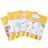 Autumnz - Cotton Muslin Washcloths *Mixed Designs* (4pcs/pack)
