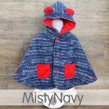 * CuddleMe - Baby Cape *MISTY NAVY*