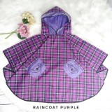 * CuddleMe - Raincoat *PURPLE*