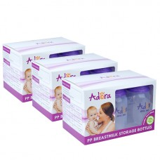Adora - Breastmilk Storage Bottles (6pcs) *TRIPLE PACK*