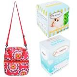 Autumnz - Posh Cooler Bag Complete Set (4 btls) - Retro Red