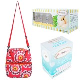 Autumnz - Posh Cooler Bag Complete Set (Retro Red)