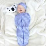 * CuddleMe - Hybrid Swaddlepod *STRIPE BLUE*