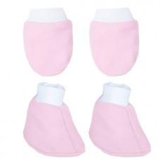 Autumnz - Mitten And Bootie Set (Pink) *BEST BUY*