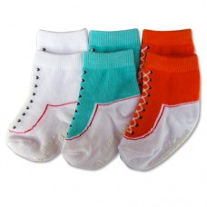 Bumble Bee - Boy Shoelike 3 Pair Socks