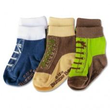 Bumble Bee - Boy Shoelike Sports 3 Pair Socks