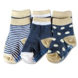 Bumble Bee - Boy Classic 3 Pair Socks