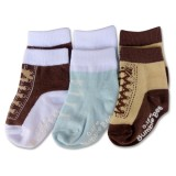 Bumble Bee - Boy Shoelike Lovely 3 Pair Socks