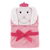 Luvable Friends - Animal Hooded Towel Embroidery (Bunny) *57061*