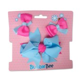 Bumble Bee - Hair Clip Set *Blue* XLA0032