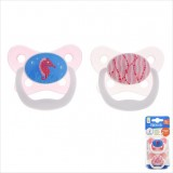 Dr Brown's - Prevent Butterfly Shield Stage 3 Pacifier - Pink (2 PCS) *12M+*