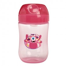 Dr Brown's - Transition Cup 9oz (Soft Spout) *Pink*