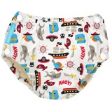 Charlie Banana - 2-in-1 Swim Diapers & Training Pants w Snaps (Pirate)