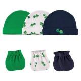 Luvable Friends - Cap & Mittens 3pk Set *34560* Green