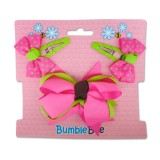 Bumble Bee - Hair Clip Set *Pink* XLA0036