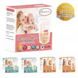Autumnz -Double Zip Lock Breastmilk Storage Bag (5 PACKS) *7oz/10oz/12oz(28 bags)*