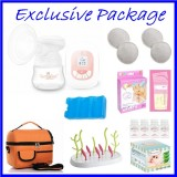 Tiny Touch Mini Series Single Electric Breast Pump BEST BUY **EXCLUSIVE PACKAGE**