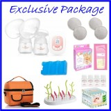 Tiny Touch Mini Series Double Electric Breast Pump BEST BUY **EXCLUSIVE PACKAGE**